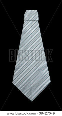 Isolated Tie Forigami