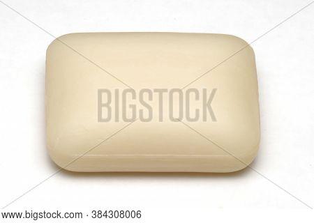 Moisturising Hand Soap Bar Isolated On White Background