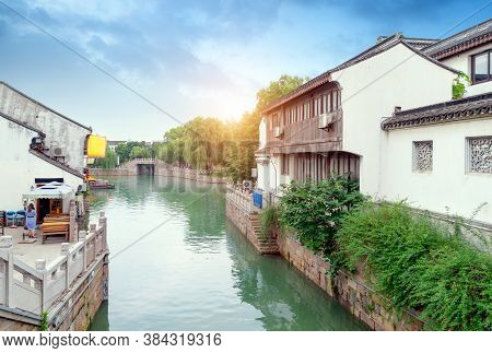 Pingjiang Road Is The Most Complete Historical District And Is The Epitome Of The Ancient City, Suzh