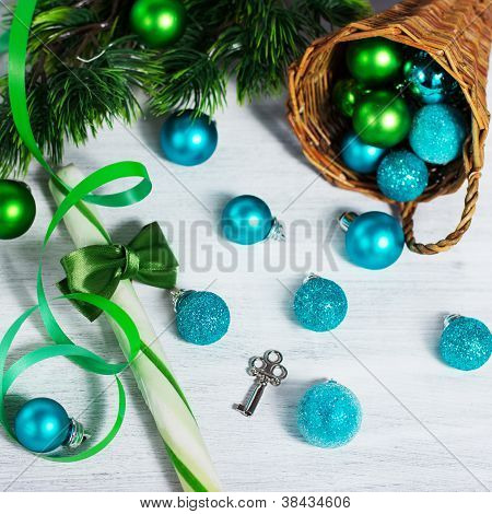 Christmas Decoration With Lollipop