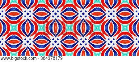 Italian Ceramic Tile. Bright Moroccan. Rainbow Tile Pattern. Tribal Floral Prints. Multicolor Ethnic
