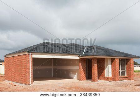 Construcción de casas nueva