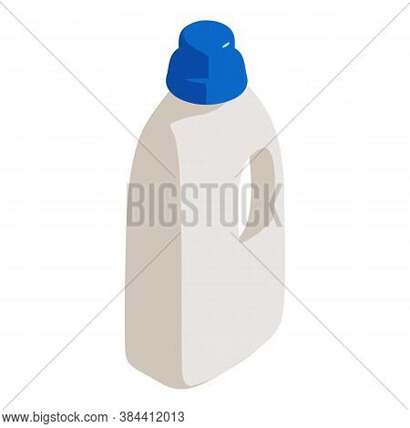 Bottle Cleaner Icon. Isometric Of Bottle Cleaner Vector Icon For Web Design Isolated On White Backgr