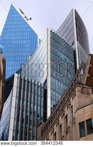 London, Uk - July 13, 2019: Willis Building Skyscraper In London. It Was Designed By Norman Foster.