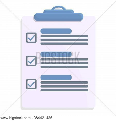 Document Standard Icon. Cartoon Of Document Standard Vector Icon For Web Design Isolated On White Ba