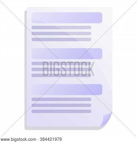 International Standard Icon. Cartoon Of International Standard Vector Icon For Web Design Isolated O