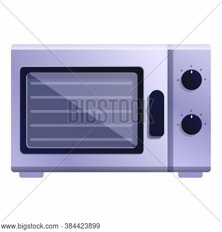 Microwave Convection Oven Icon. Cartoon Of Microwave Convection Oven Vector Icon For Web Design Isol