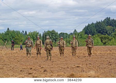 World War 2 Re-Enactors