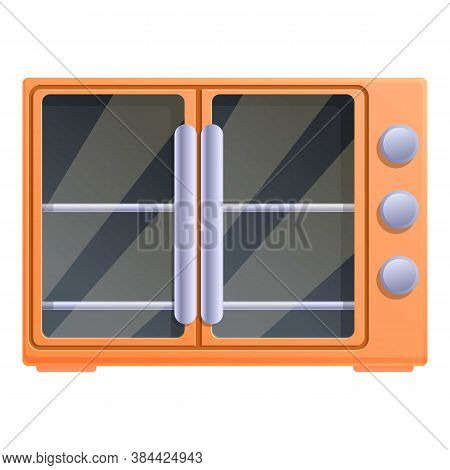 Grill Convection Oven Icon. Cartoon Of Grill Convection Oven Vector Icon For Web Design Isolated On