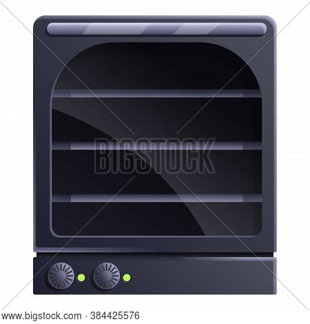 Manual Convection Oven Icon. Cartoon Of Manual Convection Oven Vector Icon For Web Design Isolated O