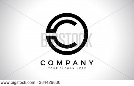 Initial Letter C Logo With Creative Modern Business Typography Vector Template. Creative Abstract Le
