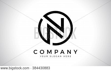 Initial Letter N Logo With Creative Modern Business Typography Vector Template. Creative Abstract Le