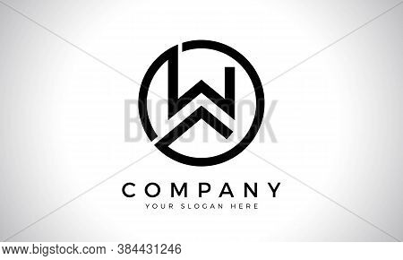 Initial Letter W Logo With Creative Modern Business Typography Vector Template. Creative Abstract Le