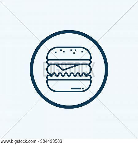 Hamburger Icon Isolated On White Background From Bufilot Ecommerce Collection. Hamburger Icon Trendy