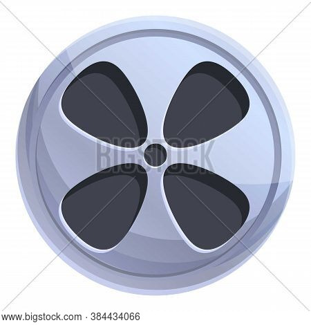 Cinema Reel Icon. Cartoon Of Cinema Reel Vector Icon For Web Design Isolated On White Background
