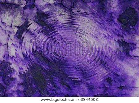 Estanque púrpura