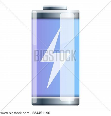 Recharge Battery Icon. Cartoon Of Recharge Battery Vector Icon For Web Design Isolated On White Back