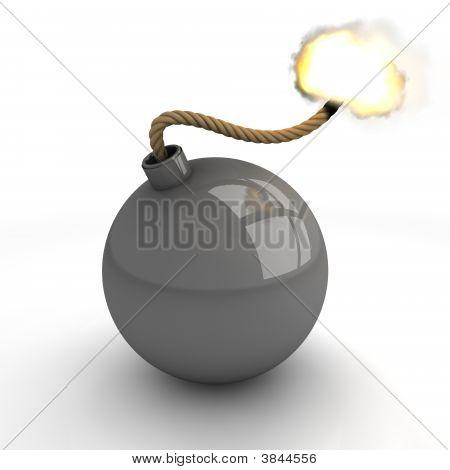 Gray Bomb Burning