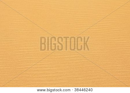Textured wavy yellow sand all over the frame poster
