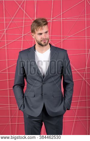 Confident Businessman In Suit. Business Fashion And Dress Code. Businessman. Serious Man. Feel The S