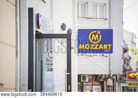 Belgrade, Serbia - April 27, 2020: Mozzart Bet Taken On One Of Their Office For Belgrade. Mozzart Be
