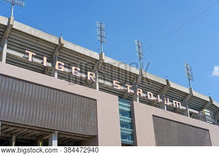 Baton Rouge, Louisiana/usa - 8/18/2020: Tiger Stadium At Louisiana State University