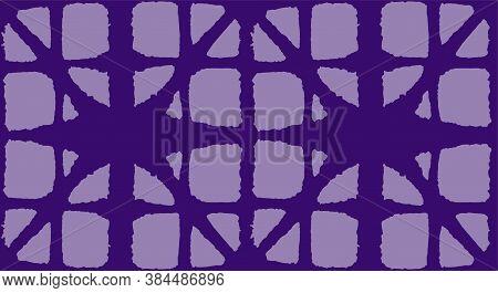 Japanese Tie Dye Seamless Pattern. Bohemian Kimono Textile. Retro Shibori Seamless Pattern. Bohemian