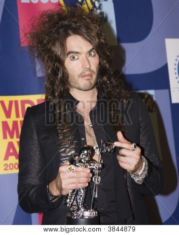Russell Brand at the 2008 MTV Video Music Awards