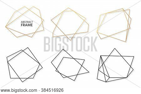Gold Black Frame Vector Photo Free Trial Bigstock