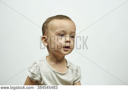 Physical Examination Of The 1 Year Old Baby Boy. Well-baby Exam. Regularly Scheduled Medical Check-u