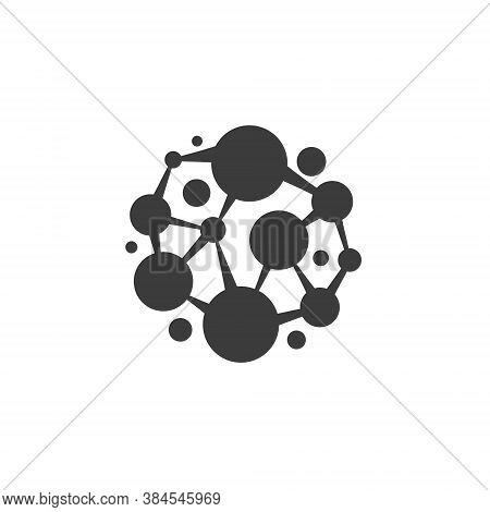 Network Logo Connecting People - Business Communication Internet Social Web Abstract Global Communit