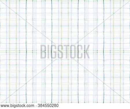 Blue And Green Tartan Prints. Seamless Buffalo Shirt. English Check Texture. Modern Woven Blanket. T