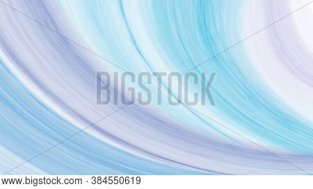 Abstract Purple And Blue Streaky Wave Background Creative With Watercolor Paintbrush. Artistic Minim