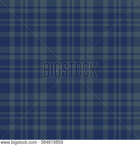 Seamless Pattern In Creative Dark Blue And Grey Colors For Plaid, Fabric, Textile, Clothes, Tableclo