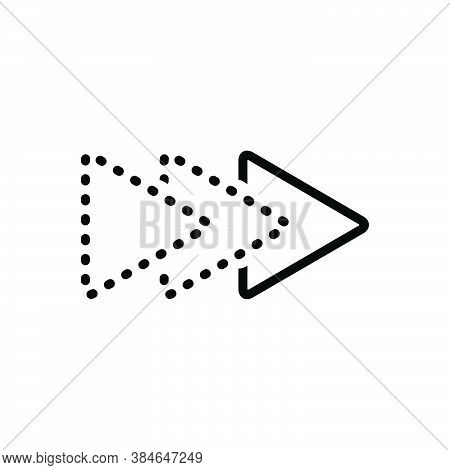 Black Line Icon For Ahead Afore Antecedently Escape Ateriorly Earlier Forward In Front Onward Fore
