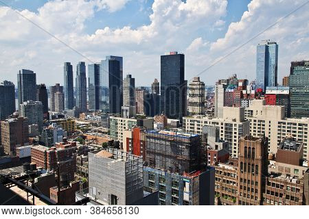 The View On New York City Of United States