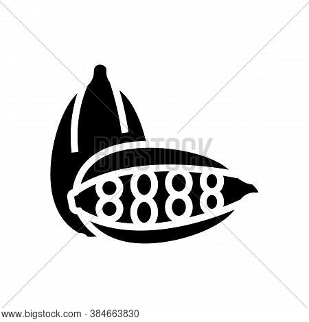 Cardamom Aromatherapy Glyph Icon Vector. Cardamom Aromatherapy Sign. Isolated Contour Symbol Black I