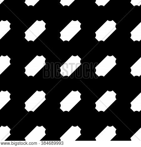 Repeated Slanted Shapes Background. Seamless Surface Pattern Design With Polygons Ornament. Tilted B