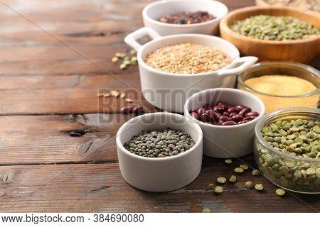assorted of legume, bean, lentil, cereals