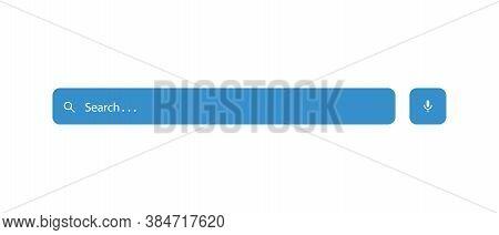 Search Box Icon Vector Illustration. Website Bar Symbol Design