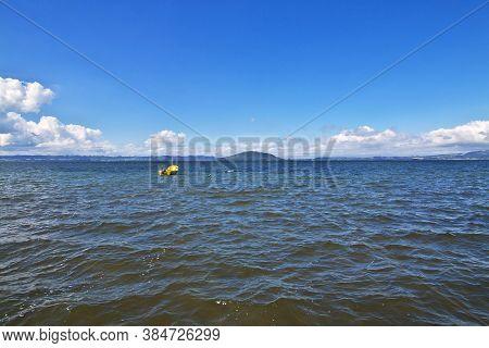 Lake In Rotorua, New Zealand