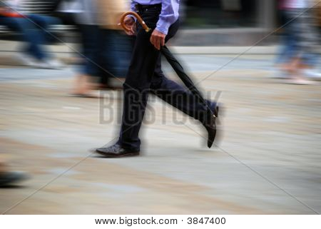 Busy Highstreet