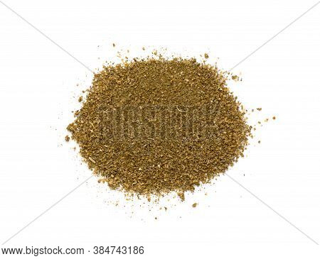Pile Of Fish Mix Or Blended Seafood Powders