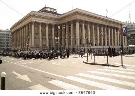 Paris Bourse Stock Exchange