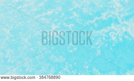 Blue Aqua Turquoise Aquamarine White Gradient Color. Patchy Abstract Background, Panorama