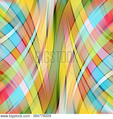 Abstract Background With Smooth Lines. Color Waves, Pattern, Art, Technology Wallpaper, Technology B