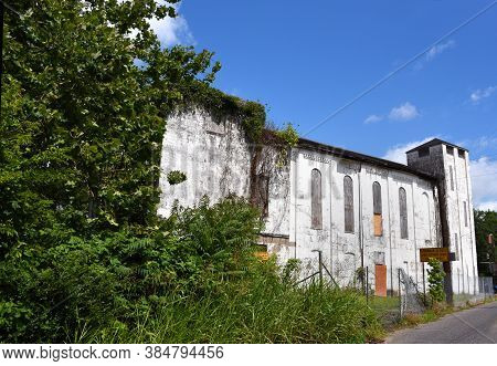 Historic Brick Church In Memphis Tennessee