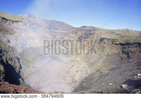 Pucon, Villarrica Volcano, Patagonia, Chile, South America