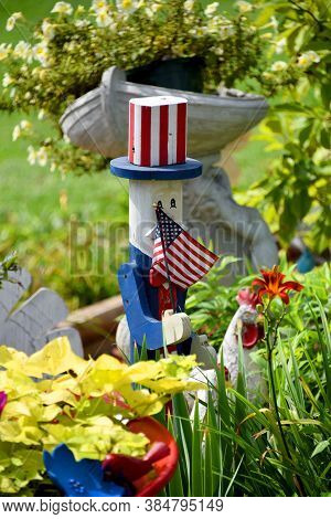 Uncle Sam Celebrates The 4Th Of July All Year