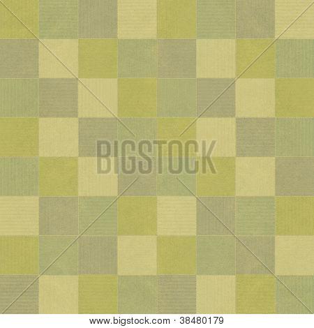 Seamless Green Geometric Pattern Mosaics Background